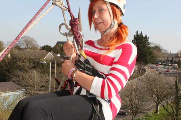 Charity Abseiling at Adventures Wales