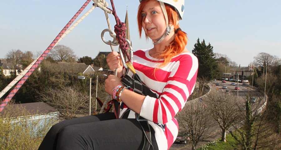 Charity Abseiling events with Adventures Wales