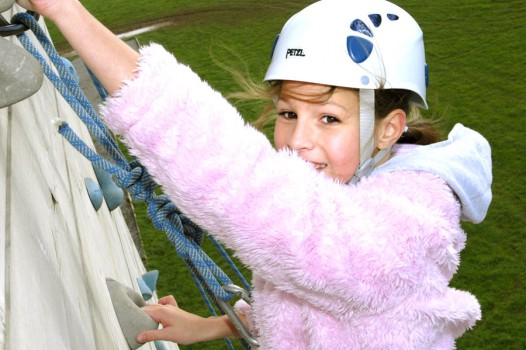 High Ropes CLimbing Course with Adventures Wales