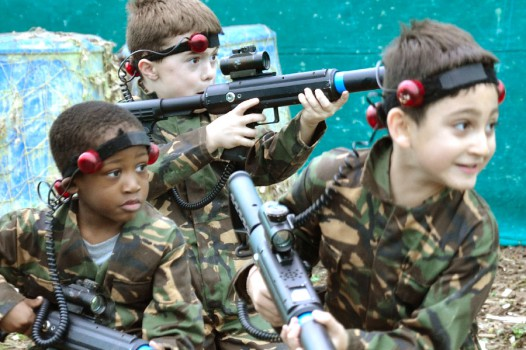 Laser Tag with Adventures Wales