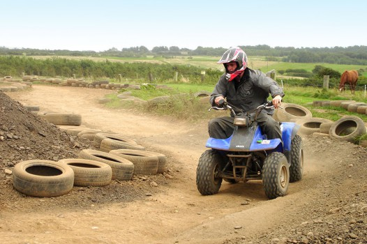Quad Biking with Adventures Wales