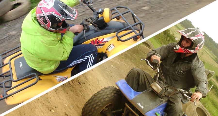Quad Biking Children's Parties with Adventures Wales