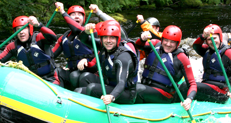 Stag Weekend Ideas in Cardiff with Adventures Wales