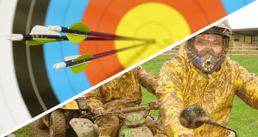 Quad Biking and Archery Activity Days with Adventures Wales