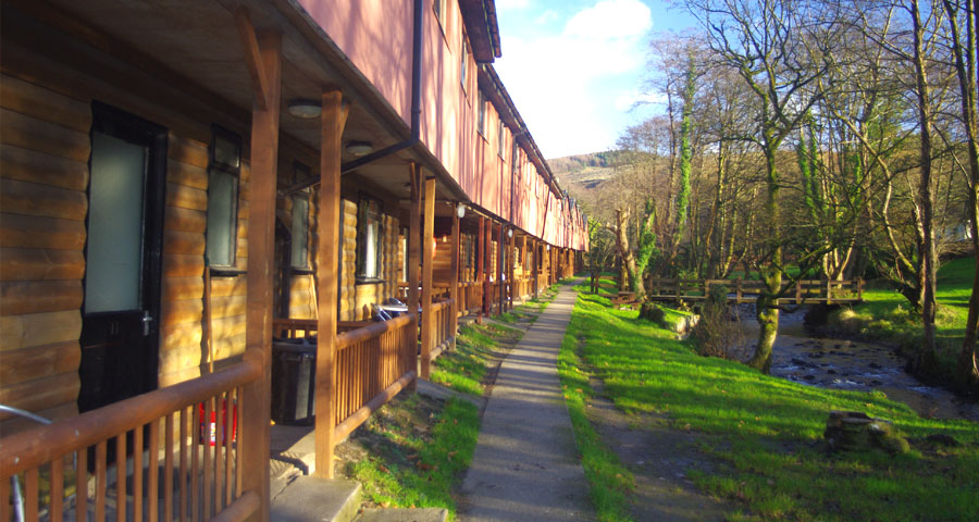 The Chalets Residential School Trips with Adventures Wales
