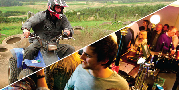 Porthcawl Stag Do Weekends with Adventures Wales Activity Centre