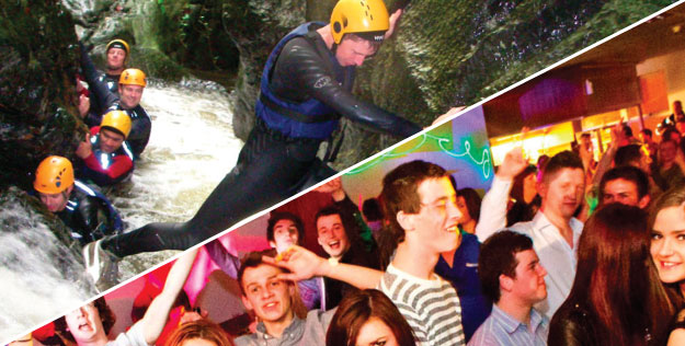 Cardiff Stag Weekends with Adventures Wales Activity Centre
