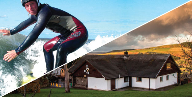 Lodge Stag Weekends with Adventures Wales Activity Centre