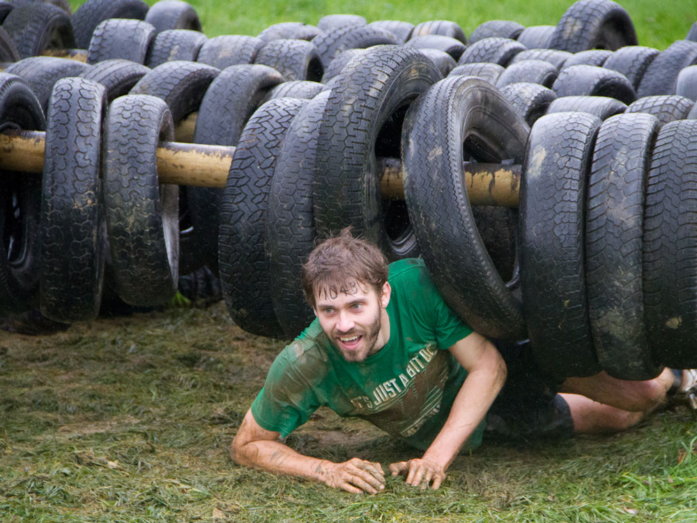 Stag Party muddy Assault Course in Cardiff