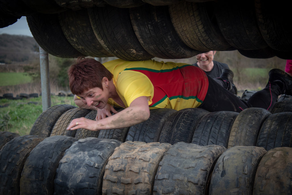 Tough Mudder Assault Course at Adventures Wales, Parc Newydd Farm, Pyle