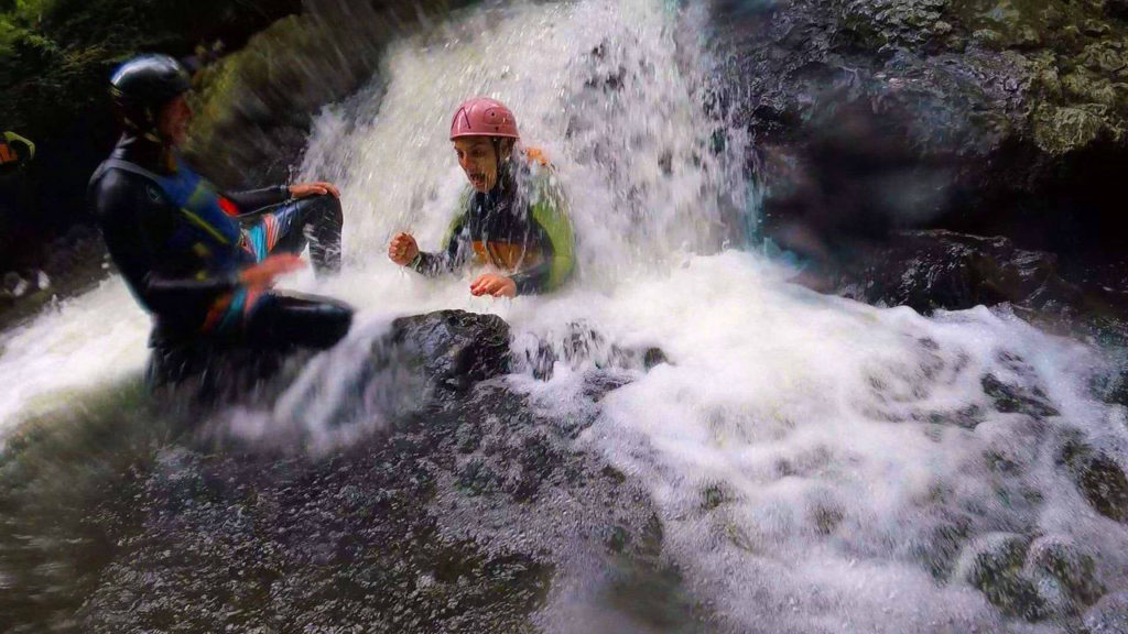 Gorge Walking and Gorge Scrambling near Cardiff with Adventures Wales