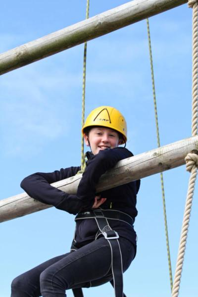 Adventures Wales High Ropes Course