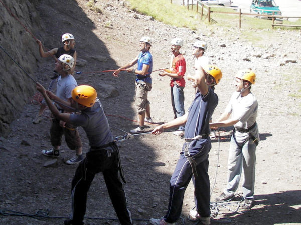 Rock Climbing Courses at Adventures Wales