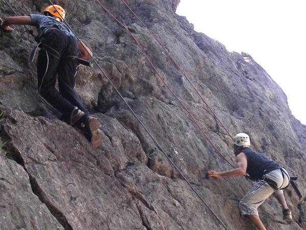 Rock Climbing Courses Near Bridgend