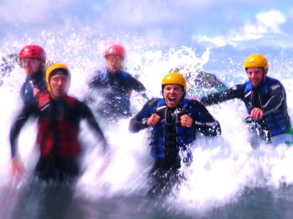 Coasteering School Activity Days in Wales