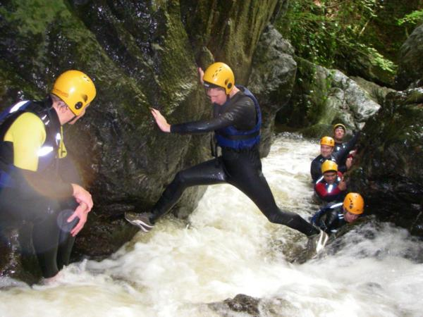 Gorge Walking for Schools