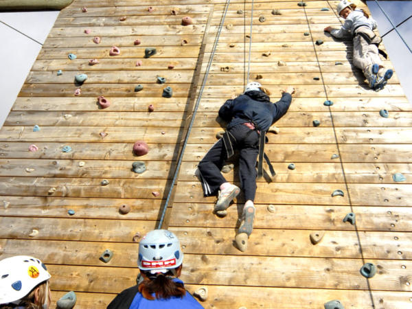Paintballing and Climbing School Adventure Days in Wales