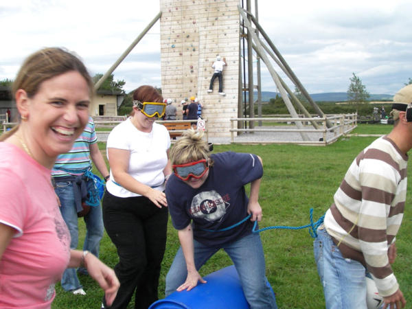 Quad Biking and Climbing Team Building Activities with Adventures Wales