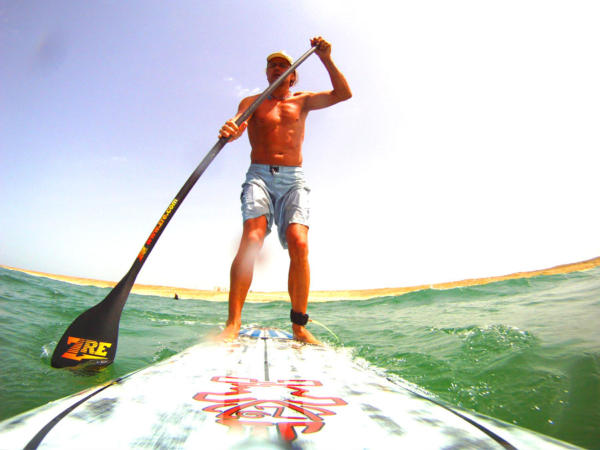 SUP Paddle Boarding with Adventures Wales