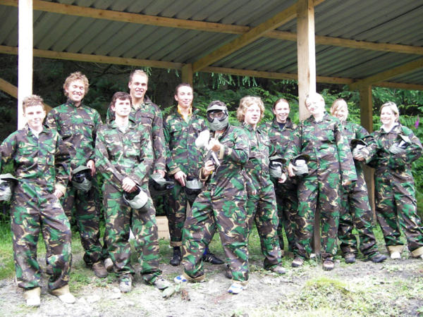 Paintballing and Climbing School Trips in Wales