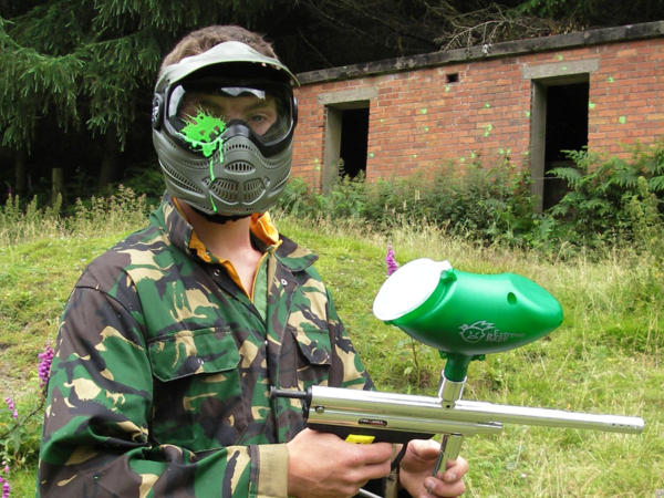 Paintballing and Climbing School Trips in Cardiff