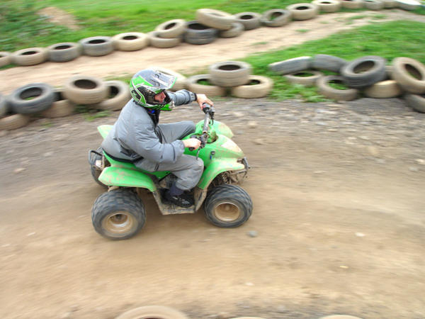 Quad Biking and Climbing Team Building with Adventures Wales