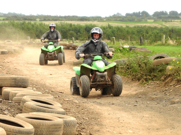 Quad Biking and Archery School Activity Day in Wales