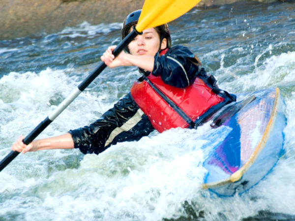 Raft Building and Kayaking School Activity Days