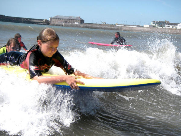Surfing and Kayaking School Activity Days Porthcawl