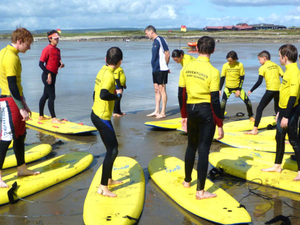 School Surfing Lessons Near Cardiff