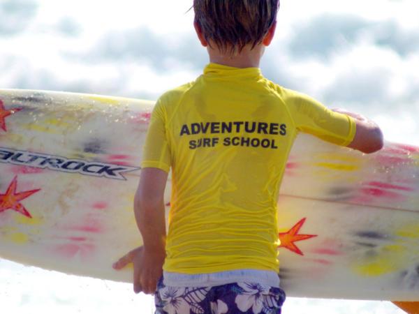 Surfing and Kayaking School Activity Days Near Cardiff