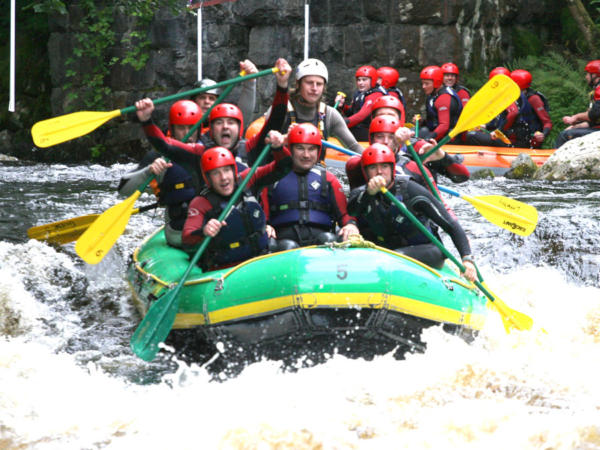 White Water Rafting Conditions in Wales