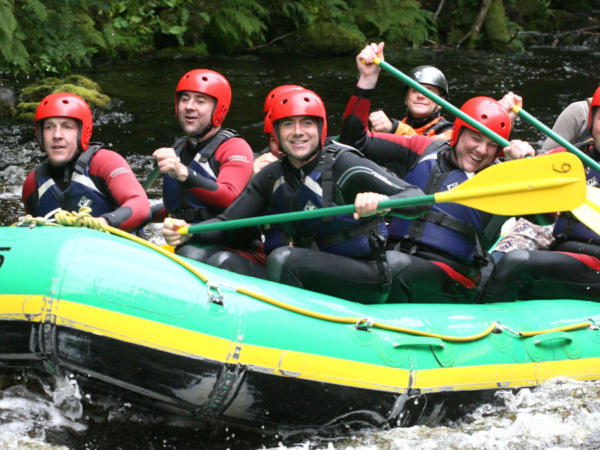 White Water Rafting Groups in Wales
